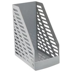 """Лоток вертикальный для бумаг СТАММ """"XXL"""", ширина 160 мм, серый"""