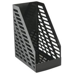 """Лоток вертикальный для бумаг СТАММ """"XXL"""", ширина 160 мм, черный"""