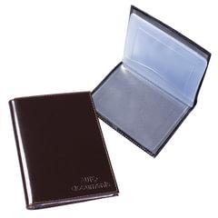 """Бумажник водителя BEFLER """"Classic"""", натуральная кожа, тиснение """"Auto documents"""", 6 пластиковых карманов, коричневый"""