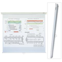 Экран проекционный LUMIEN ECO PICTURE, матовый, настенный, 200х200 см, 1:1