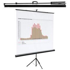 Экран проекционный на треноге (160х160 см), матовый, 1:1, DIGIS KONTUR-C