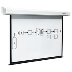 Экран проекционный DIGIS ELECTRA, матовый, настенный, электропривод, 129х232 см, 16:9