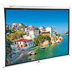 Экран проекционный настенный (150х200 см), матовый, 4:3, BRAUBERG WALL, 236728