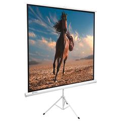 Экран проекционный BRAUBERG TRIPOD, матовый, на треноге, 200х200 см, 1:1