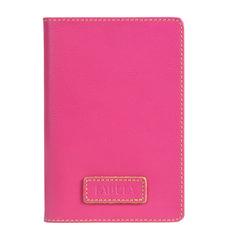 """Обложка для паспорта FABULA """"Ultra"""", натуральная кожа, контрастная отстрочка, розовая"""