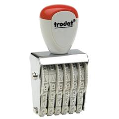 Нумератор ручной ленточный, 6 разрядов, оттиск 27х4 мм, TRODAT 1556