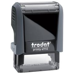 Оснастка для штампа, размер оттиска 26х9 мм, синий, TRODAT 4910 P4, подушка в комплекте