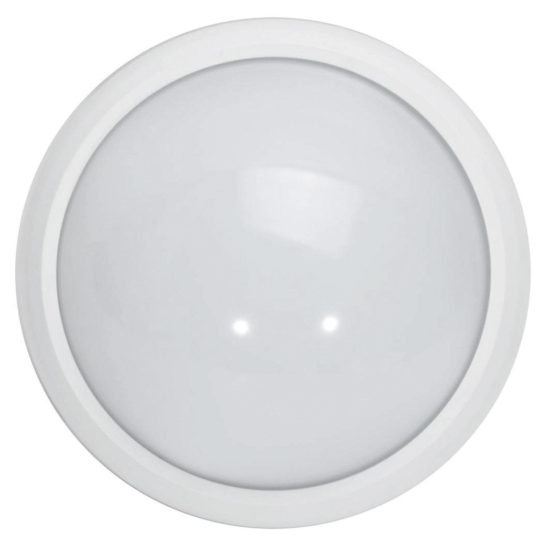 Светильник светодиодный ЭРА, 180х75, 8 Вт, 4000 К, 640 Лм, IP54, круглый, белый, SPB-1-08