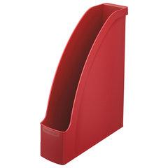 """Лоток вертикальный для бумаг LEITZ """"Plus"""", ширина 78 мм, красный, 24760025"""