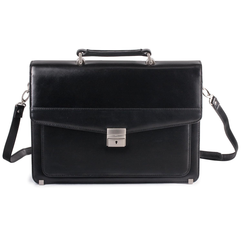 78f452ed6367 Купить Портфель из натуральной кожи, черный 240261 – цена на сайте ...