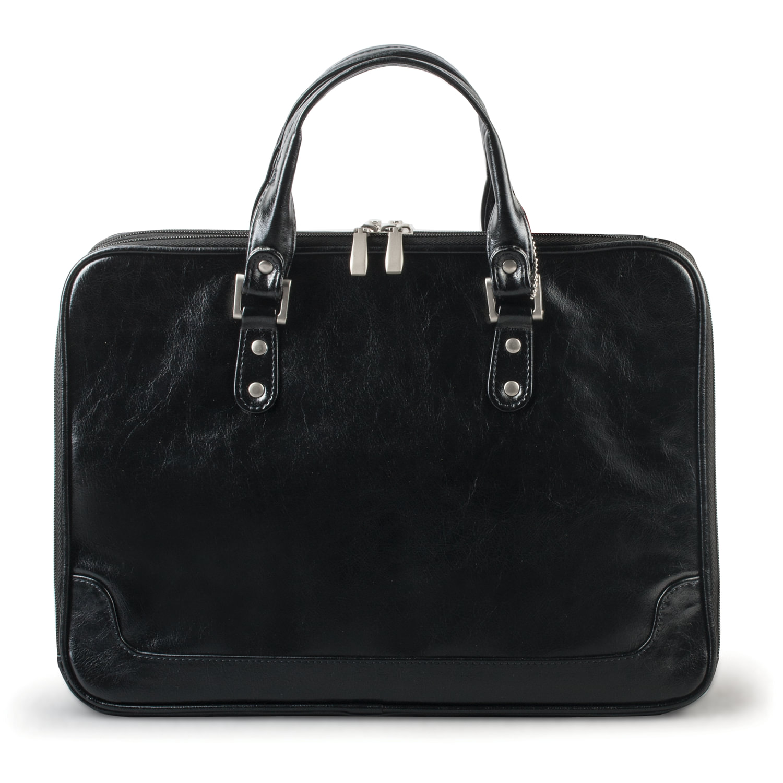 c5a875c8a1bf Портфель-сумка женский из кожзама, на молнии, 380х270х100 мм, черный