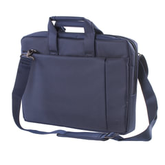 """Сумка деловая RIVACASE 8231 blue, отделение для планшета и ноутбука 15,6"""", ткань, синяя, 39x29x7 см"""
