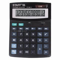 Калькулятор настольный STAFF STF-888-12 (200х150 мм), 12 разрядов, двойное питание, 250149