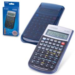 Калькулятор CITIZEN инженерный SR-260N, 10+2 разрядов, питание от батарейки, 154х80 мм, сертифицирован для ЕГЭ