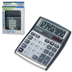 Калькулятор CITIZEN настольный CDC-100WB, 10 разрядов, двойное питание, 135x108 мм
