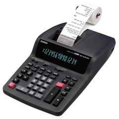 Калькулятор CASIO печатающий DR-320TEC-EA, 14 разрядов, от сети, 339х215 мм, (бумажный ролик 110364, картридж 250405)