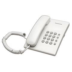 Телефон PANASONIC KX-TS2350RUW, белый, повторный набор, тональный/импульсный режим