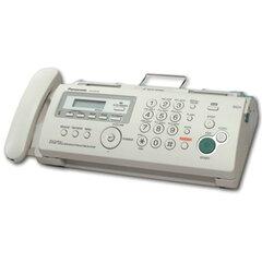 Факс PANASONIC KX-FP218 RUB, печать на обычной бумаге 70-80 г/м2, А4, АОН, автоответчик