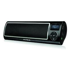 Аудиосистема портативная SUPRA PAS-6255, мощность 5 Вт, FM-тюнер, МР3, WMA, USB/SD/AUX, будильник, диктофон, черная