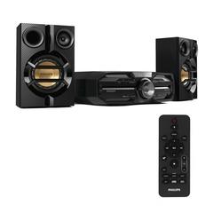 Музыкальный центр PHILIPS FXD15/12, MP3-CD, выходная мощность 180 Вт, USB, Bluetooth, NFC, черный