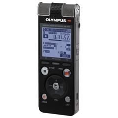 Диктофон OLYMPUS DM-670, 8 Gb, Linear PCM, WAV/MP3/WMA, время записи 2007 ч, черный