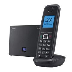 Радиотелефон IP GIGASET A510 IP, память на 150 номеров, SIP DECT, АОН, спикерфон, цвет черный