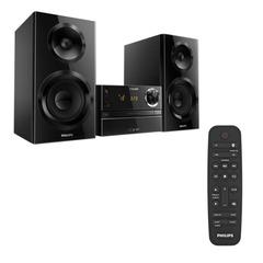 Музыкальный центр PHILIPS BTM2360, CD, CD-R/RW, MP3-CD, выходная мощность 70 Вт, USB, Bluetooth, AUX, FM, черный