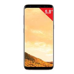 "Смартфон SAMSUNG Galaxy S8, 2 SIM, 5,8"", 4G (LTE), 8/12 Мп, 64 ГБ, microSD, ""желтый топаз"", металл/стекло"
