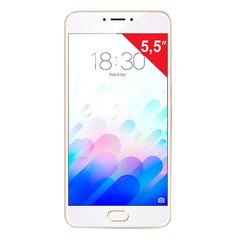 "Смартфон MEIZU M5 NOTE M621H, 2 SIM, 5,5"", 4G, 5/13 Мп, 32 Гб, MicroSD, золотой, металл"