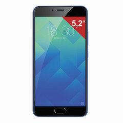 """Смартфон MEIZU M5 M611H, 2 SIM, 5,2"""", 4G, 5/13 Мп, 16 Гб, MicroSD, синий, пластик"""