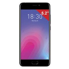 "Смартфон MEIZU M6 M711H, 2 SIM, 5,2"", 4G, 8/13 Мп, 16 ГБ, MicroSD, черный, пластик"