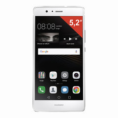 "Смартфон HUAWEI P9 LITE VNS-L21, 2 SIM, 5,2"", 4G, 8/13 Мп, 16 ГБ, MicroSD, белый, пластик"