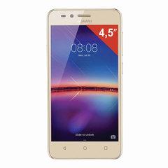 "Смартфон HUAWEI Y3 2017, 2 SIM, 5"", 3G, 2/5 Мп, 8 ГБ, MicroSD, золотой, пластик"
