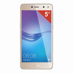 "Смартфон HUAWEI Y5 2017 MYA-U29, 2 SIM, 5"", 4G, 5/8 Мп, 16 ГБ, MicroSD, золотой, пластик"