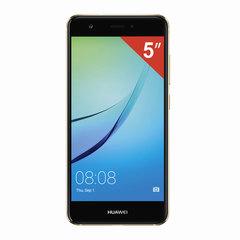 "Смартфон HUAWEI NOVA CAN-L11, 2 SIM, 5"", 4G, 8/12 Мп, 32 Гб, MicroSD, золотой, металл"