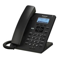 Телефон SIP PANASONIC KX-HDV130RUB, 2 SIP-линии, 2 х RJ45, черный, без блока питания