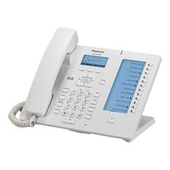 Телефон SIP PANASONIC KX-HDV230RU, 6 SIP-линий, 2 х RJ45, белый, с блоком питания, 12 программированных кнопок