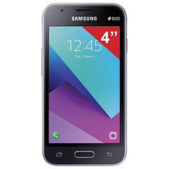"Смартфон SAMSUNG Galaxy J1 mini Prime, 2 SIM, 4"", 4G (LTE), 0,3/5 Мп, 8 ГБ, microSD, черный, металл"