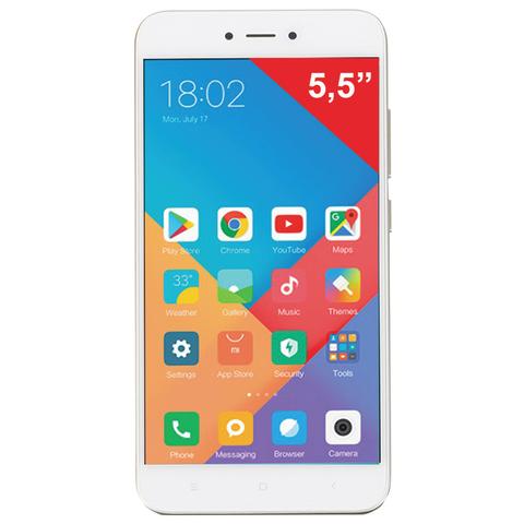 "Смартфон XIAOMI Redmi Note 5A, 2 SIM, 5,5"", 4G, 5/13 Мп, 16 Гб, золотой, металл"