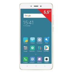 "Смартфон XIAOMI Redmi Note 5A PRIME, 2 SIM, 5,5"", 4G, 13/16 Мп, 32 Гб, золотой, металл"