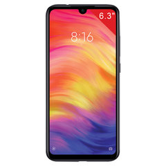 Смартфон XIAOMI Redmi Note 7, 2 SIM, 6,3'', 4G (LTE), 13/48+5 Мп, 64 ГБ, MicroSD, черный