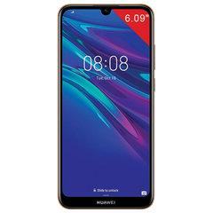 "Смартфон HUAWEI Y6 2019, 2 SIM, 6,09"", 4G (LTE), 8/13 Мп, 32 ГБ, microSD, янтарный, пластик"