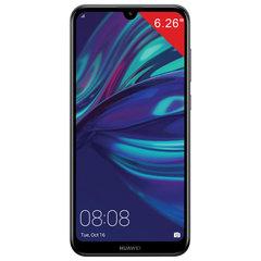 "Смартфон HUAWEI Y7 2019, 2 SIM, 6,26"",4G (LTE), 8/13+2 Мп, 32 ГБ, microSD, черный, пластик"