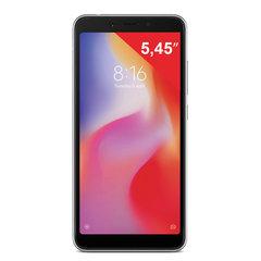 "Смартфон XIAOMI Redmi 6A, 2 SIM, 5,45"", 4G (LTE), 5/13 Мп, 16 Гб, microSD, черный, пластик"