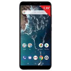 "Смартфон XIAOMI Mi A2, 2 SIM, 5,99"", 4G (LTE), 20/12 + 20 Мп, 64 Гб, microSD, черный, металл"