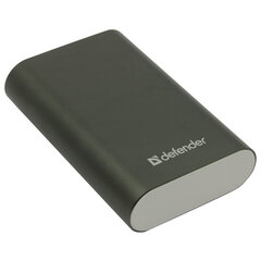 Аккумулятор внешний DEFENDER LAVITA 6000B, 6000 mAh, 1 USB, Li-iom, черный, 83616