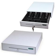 """Ящик денежный для кассира """"Меркурий 100.1"""", малый, 384х358х88 мм, отделений для монет - 7, для купюр - 4"""