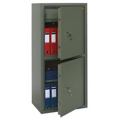 """Сейф офисный VALBERG """"ASM-120Т/2"""", 1200х550х390 мм, 96 кг, 2 отделения, ключевой замок"""