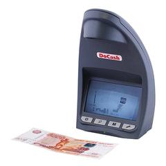 """Детектор банкнот DOCASH LITE D, ЖК-дисплей 12 см, просмотровый, ИК-детекция, спецэлемент """"М"""""""
