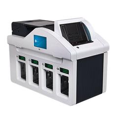 Счетчик-сортировщик банкнот GRGBanking СM400, 1100 банкнот/мин., ИК-, УФ- магнитная детекция, 4 лотка
